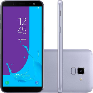 Samsung Galaxy J6 32gb Prata Com Tv Vitrine