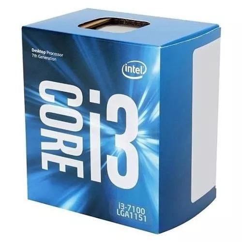 Processador Intel Core I3 7100 3.9ghz Lga 1151 3mb + Frete