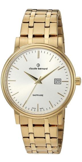 Reloj Claude Bernard Acero Dorado Mujer 5300737jmaid