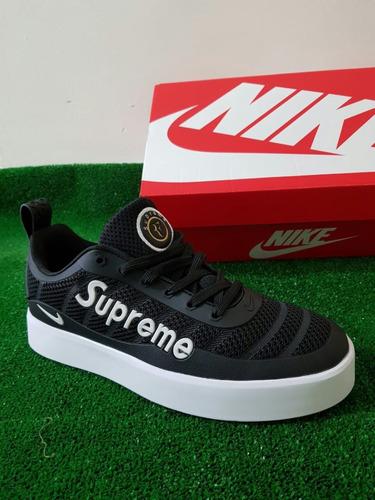 paz repetición Yogur  Tenis Zapatillas Nike Tiempo Vetta Supreme Blanca Hombre   Mercado Libre