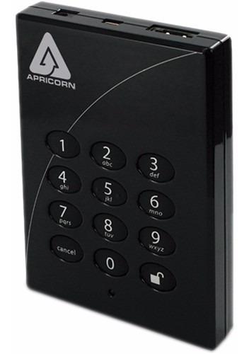 Apricorn Aegis Padlock Pro - 500gb - 256bit (a25-ple256-500)