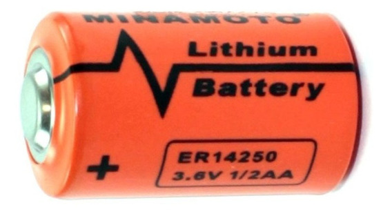 Bateria Litio 1/2aa 3,6v 1200mah Er14250 Minamoto