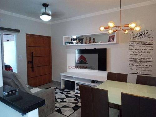 Casa Com 3 Dormitórios À Venda, 100 M² Por R$ 470.000,00 - Vila Industrial - São José Dos Campos/sp - Ca1087