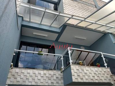 Sobrado Residencial À Venda, Parque Das Nações, Santo André. - So0923
