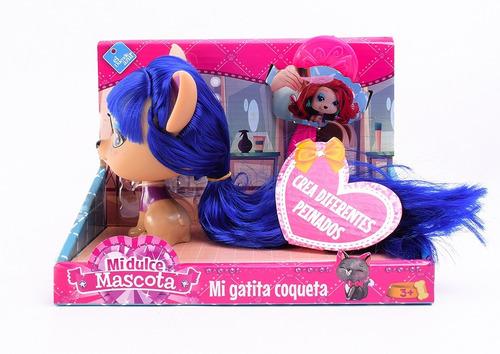 Muñeca Gatita Para Peinar Varios Modelos Mi Dulce Mascota