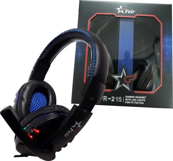 Acessórios Ps4 Pc Ps3 Headset Gamer 3 Em 1 Feir 215 Promoção