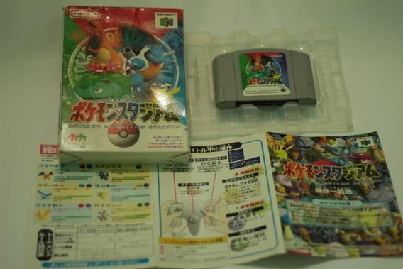 Jogo Pokemon Stadium Original Nintendo 64 Frete Gratis Leia!