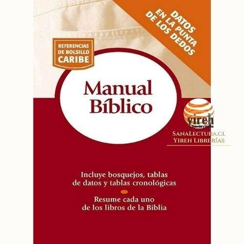 Imagen 1 de 1 de Manual Bíblico  Referencia De Bolsillo Caribe