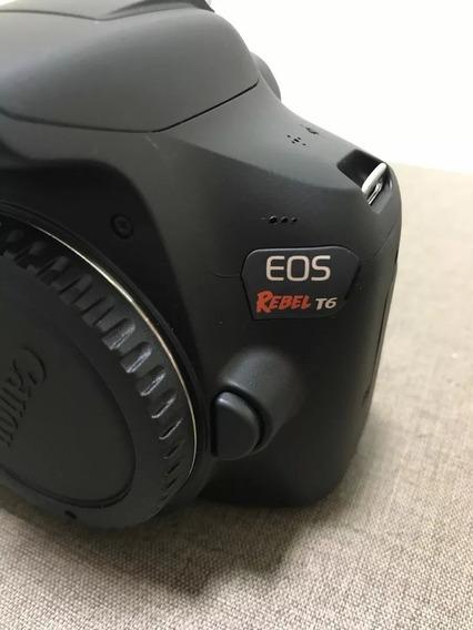 Câmera Digital Canon Eos Rebel T6