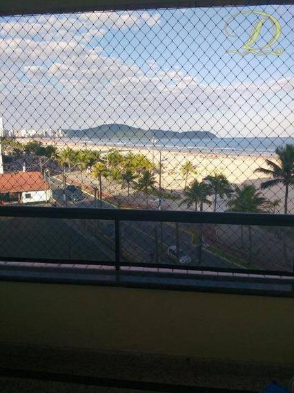 Apartamento De 3 Quartos Frente Ao Mar À Venda Em Praia Grande!!! - Ap1873
