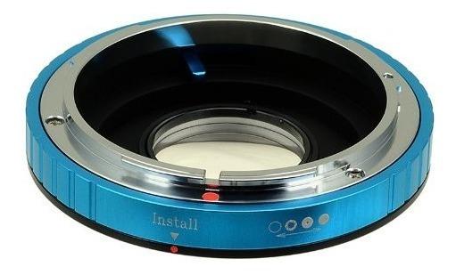Adaptador Usar Lentes Canon Fd En Camaras Nikon F Dslr Nuevo