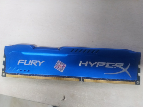 Imagem 1 de 3 de 8 Giga De Memória/ Hyperx - Fury.. Funcionando Perfeitamente