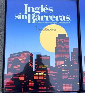 Curso Ingles Sin Barrera 12 Dvd Original Ed. 2018 Actualizad