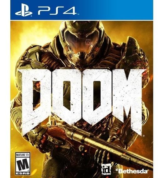 Jogo Doom Ps4 Mídia Física | Vitrine
