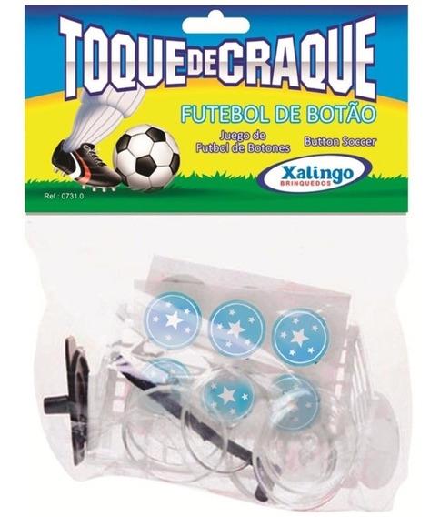 Jogo De Futebol De Botão Toque De Craque 2 Times Xalingo