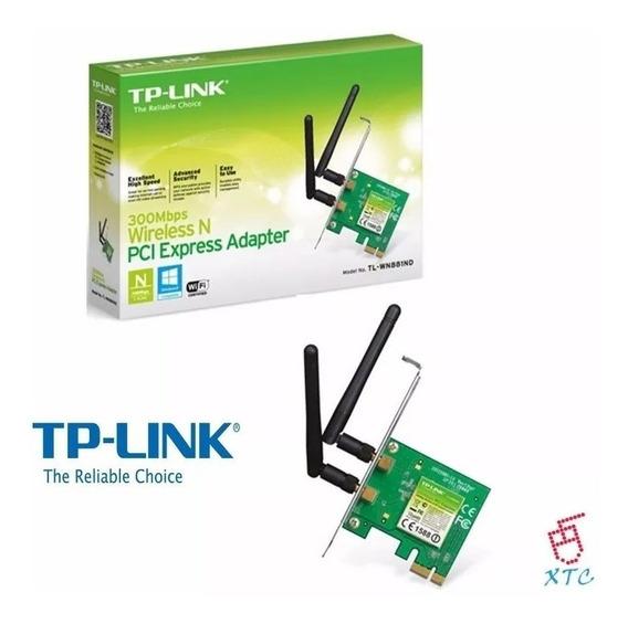 Tarjeta Pci Expres Adaptador Tp-link Tl-wn881nd Wireless Ccc