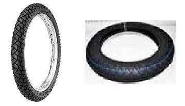 Juego Cubierta 80/100x14 Yuanxing Y 60/100x17 Michelin - 2r