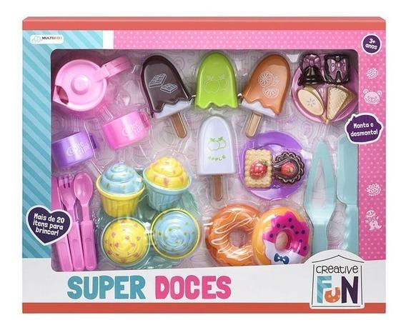 Brinquedo Creative Fun Super Doces Multikids Br604