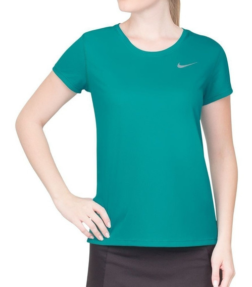 Camiseta Feminina Nike Dri Fit Verde - 840173-311