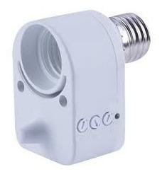 Sensor Presença Microondas Base E27 Bivolt Facil Instalação