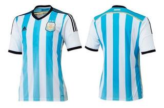 Camisa Argentina Oficial adidas Copa Do Mundo 14/15 S/n