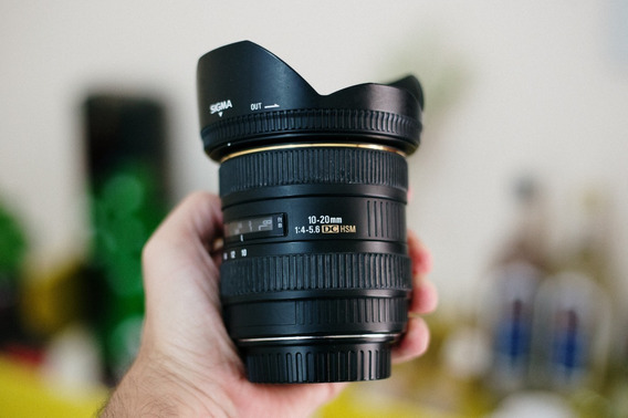 Lente Grande Angular Sigma 10-20mm F4-5.6 Canon