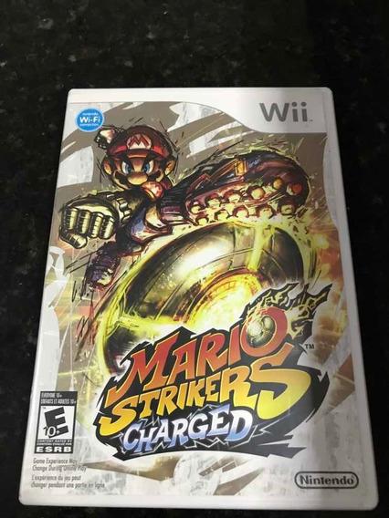 Jogo Nintendo Wii Mário Strikers Charged Original