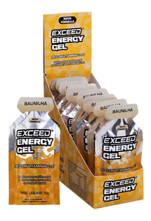 Gel De Carboidrato Exceed Energy Gel Caixa Com 10 Un