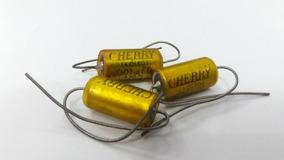 3 Capacitores A Òleo Cherry - 001 Ufd 600v
