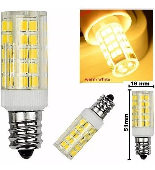 Lampada Led 51 Quente E12 5w 110v 1 Lote C/ 8 Unidades