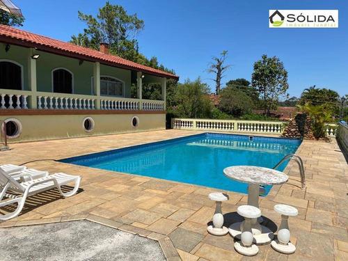 Chácara Com 4 Dormitórios À Venda, 2500 M² Por R$ 790.000,00 - Jardim Laura - Campo Limpo Paulista/sp - Ch0020