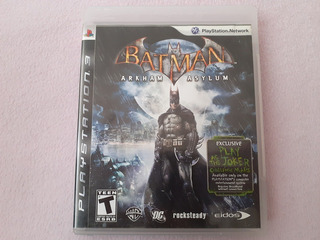 Batman Arkham Asylum Original Para Ps3
