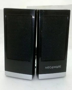 Caixa De Som P/ Pc Usb Megaware
