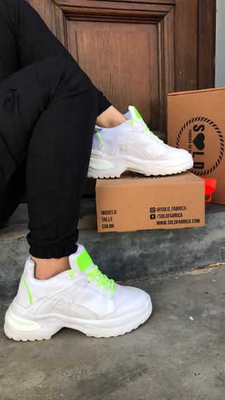 Zapatillas Mujer Urbana Tendencia Aw 20-20 Sold Fábrica