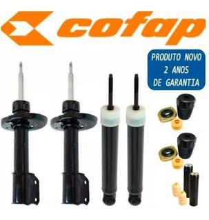 Kit 4 Amortecedores Corsa Celta Prisma Cofap + Kits Cofap