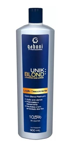 Gaboni Locão Descolorante Unik Blond 900ml