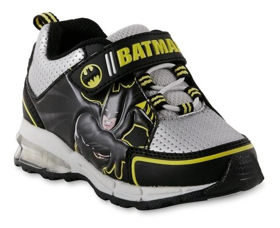 Botas Importadas Niños Luz Led Disney Batman 25trump