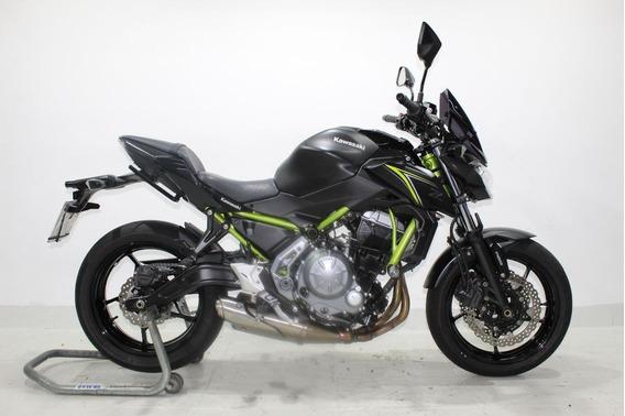 Kawasaki Z 650 Abs 2018 Preta