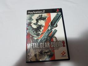 Metal Gear Solid 2: Sons Of Liberty Ps2 Original Americano