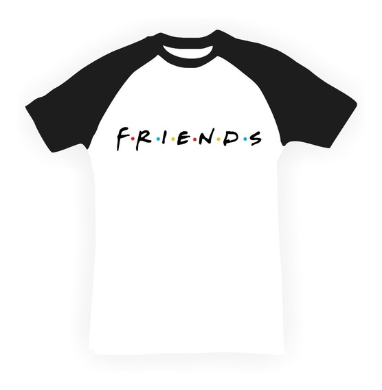 Remeras Series Retro 90s Friends