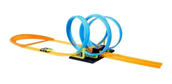 Brinquedo Pista Looping 360º 4 Voltas Com 24 Peças