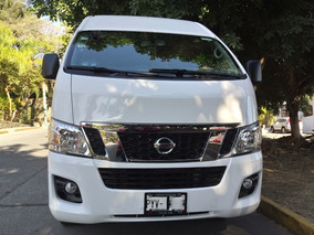 Nissan Urvan 12ps Pack Seguridad 28000km Impecable Fac.orig