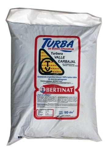 Turba Musgo Sphagnum Bertinat 25 Dm3 Sustrato Para Cultivo