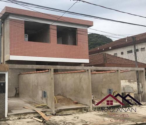 Imagem 1 de 3 de Casa (sobreposta Térrea) 2 Dormitórios - Santos (em Construção) - 5225