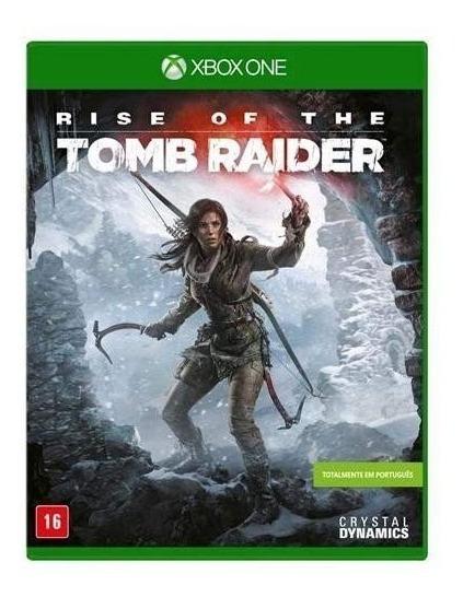 Rise Of The Tomb Raider Xbox One Português Mídia Física Nf