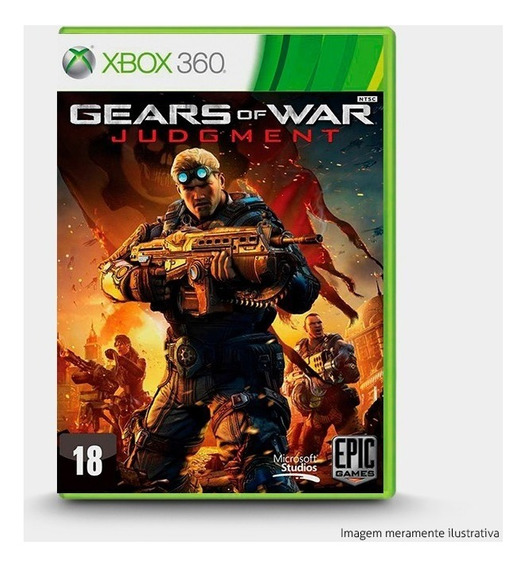 Gears Of War Judgment - Original Para Xbox 360 - Novo