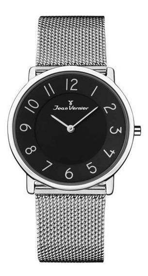 Relógio Analogo Jean Vernier Jv35676p Preto