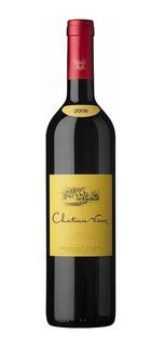 Vino Chateau Vieux Tinto Blend 750ml Pinot Noir Caja Pack X6