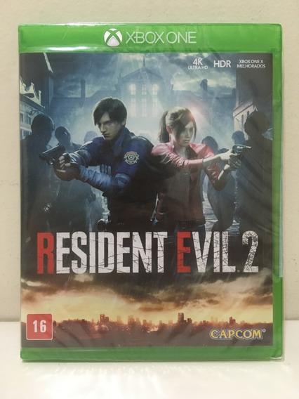 Resident Evil 2 Remake Xbox One X Novo Lacrado