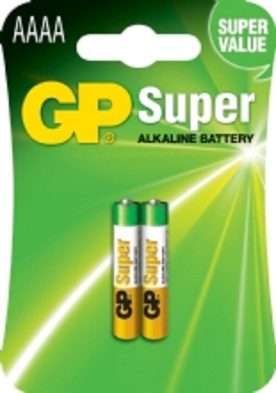 Pilha Bateria 4a Aaaa 1,5v Gp Lr8d425 P/ Canetas Tablet